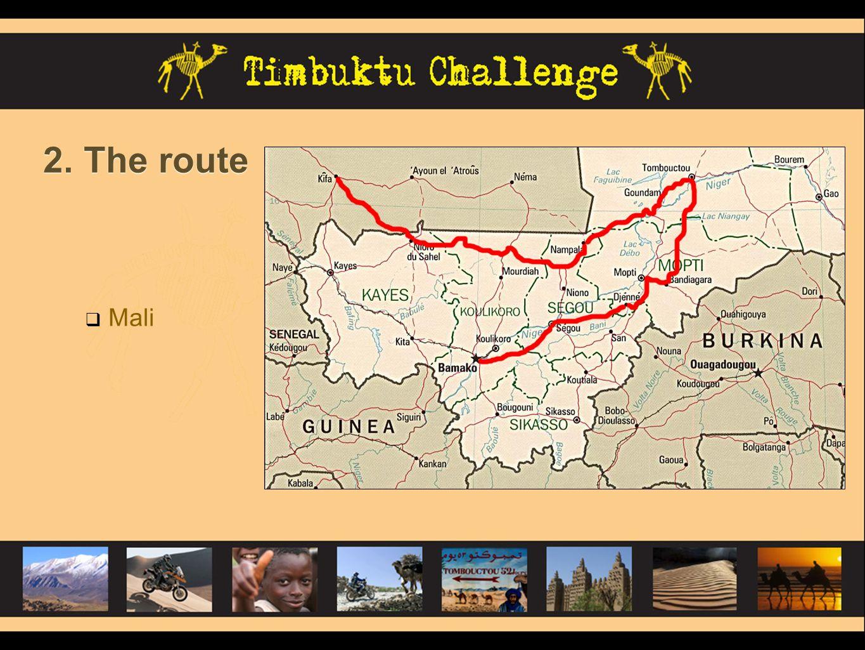 2. The route Mali