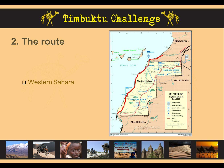 2. The route Mauritania