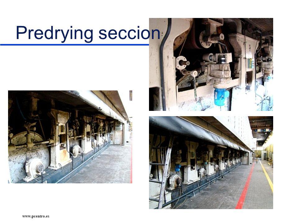www.pcentro.es Predrying seccion