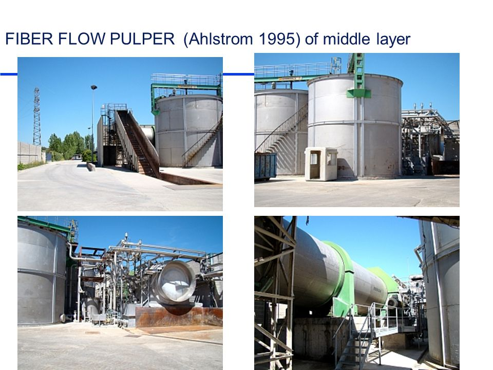 www.pcentro.es FIBER FLOW PULPER (Ahlstrom 1995) of middle layer