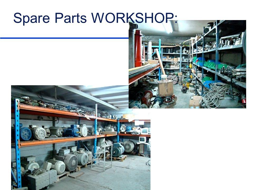 Spare Parts WORKSHOP: