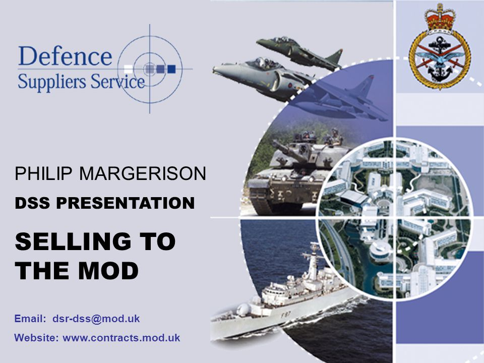 Website: www.contracts.mod.uk Sub-Contract Opportunities Future Purchase No.