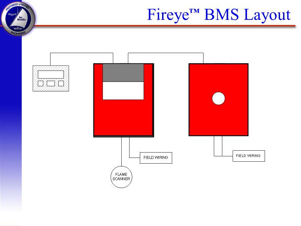 Fireye BMS Layout