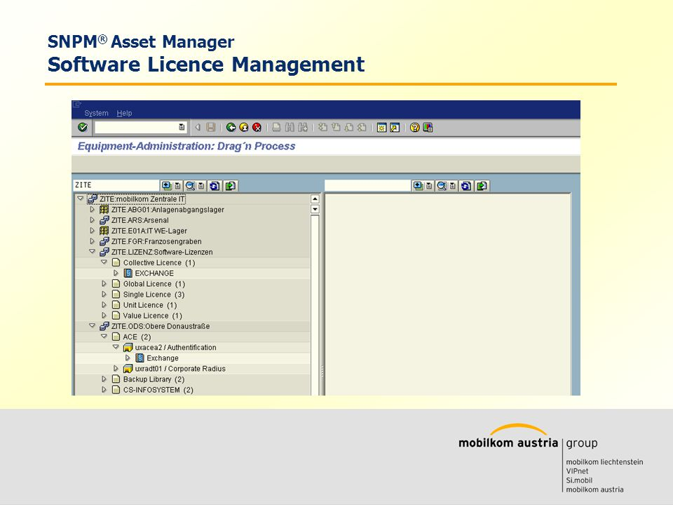 Volkmar Wille Ernst Klaus SNPM ® Asset Manager Software Licence Management