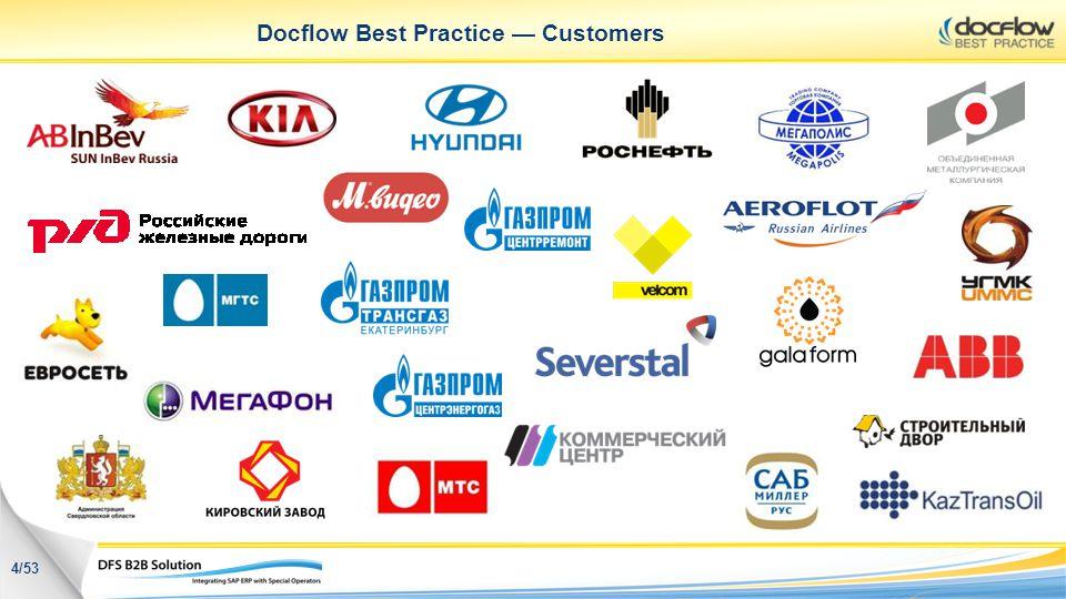 Docflow Best Practice Customers 4/53