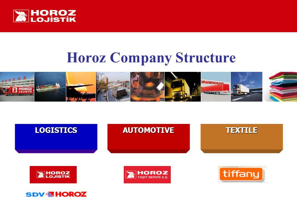 LOGISTICSAUTOMOTIVETEXTILE Horoz Company Structure