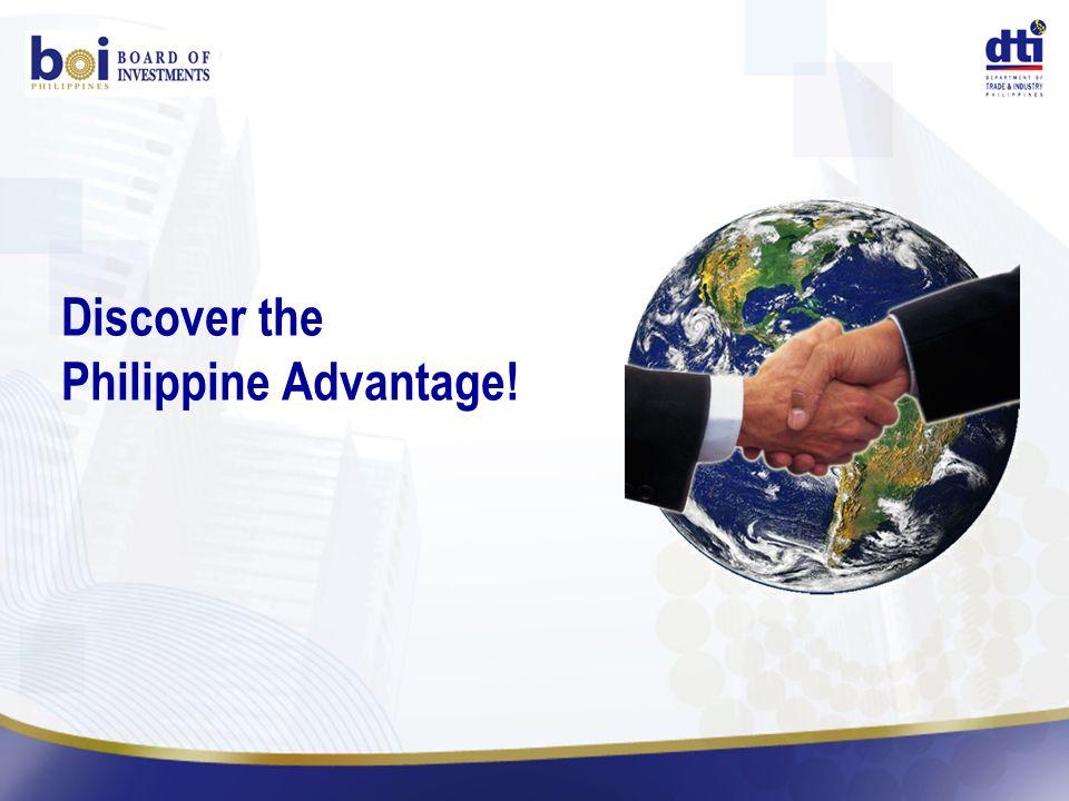 Discover the Philippine Advantage!
