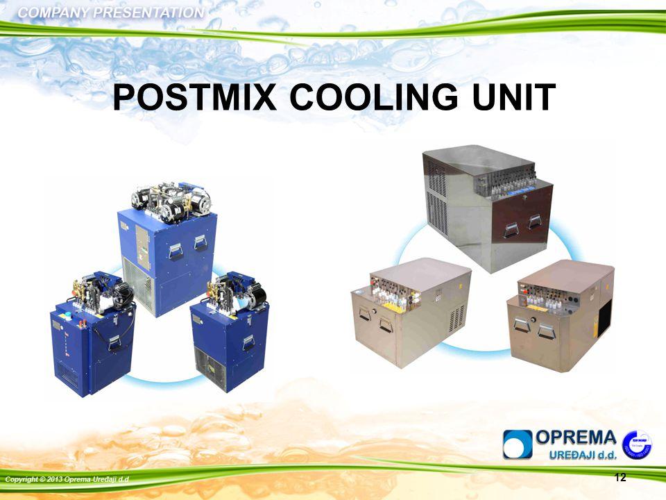 POSTMIX COOLING UNIT 12