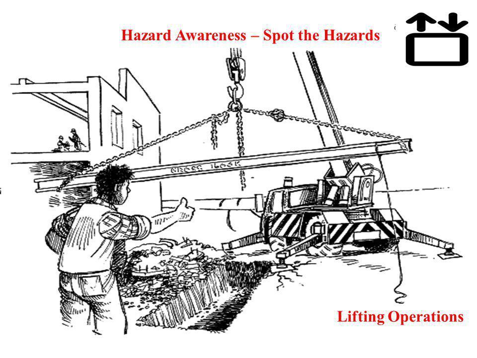 Hazard Awareness – Spot the Hazards Lifting Operations