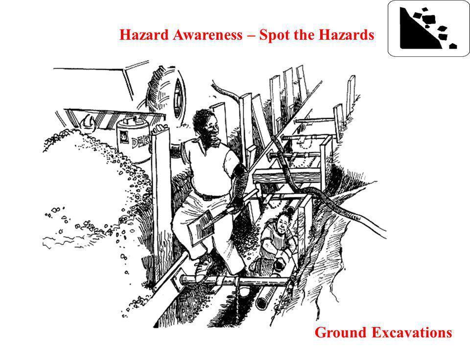 Hazard Awareness – Spot the Hazards Ground Excavations