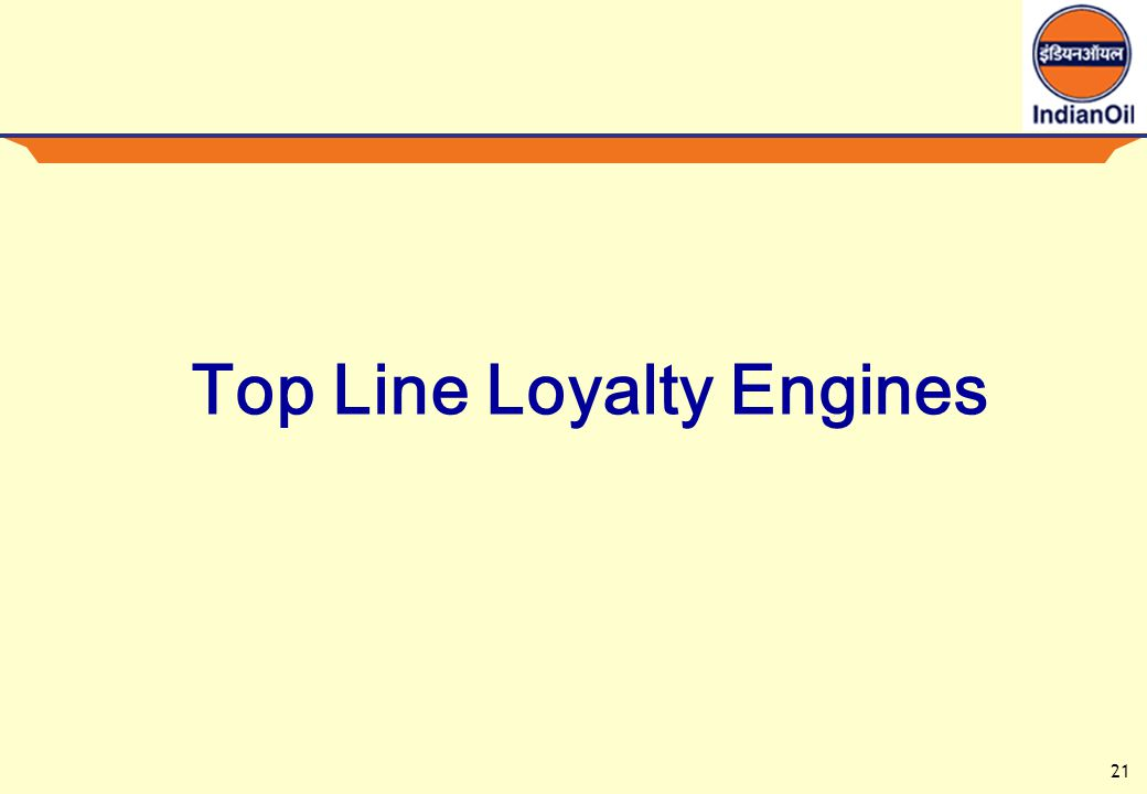 21 Top Line Loyalty Engines