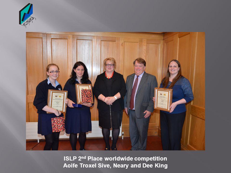 Order of Merit John Hooper medal Emma McGorman, Aoife Treanor and Joanne Myres