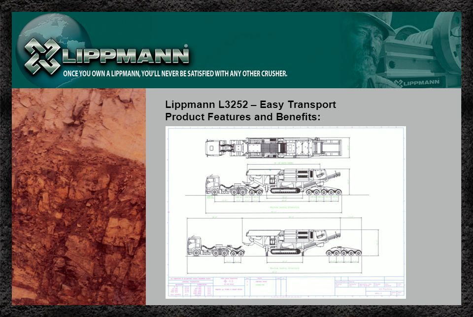 Lippmann L3252 – Easy Transport Product Features and Benefits: