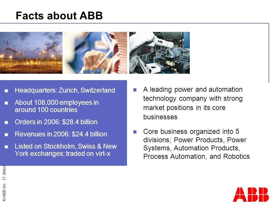 © ABB Inc.