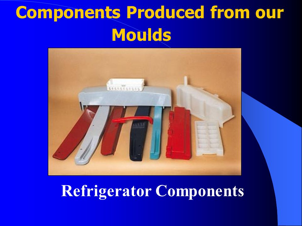 Components Produced from our Moulds Refrigerator Components