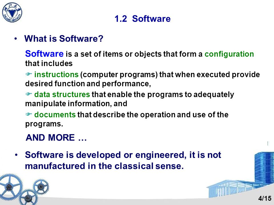1.1 The Evolving Role of Software Software = Product (information transformer) Vehicle for delivering a product (OS, network, tools) The same questions are still asked today: 1.Why does it take so long to get software finished.