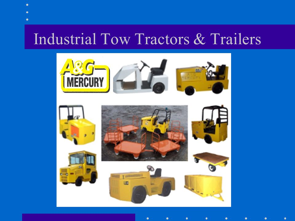 Industrial Tow Tractors & Trailers