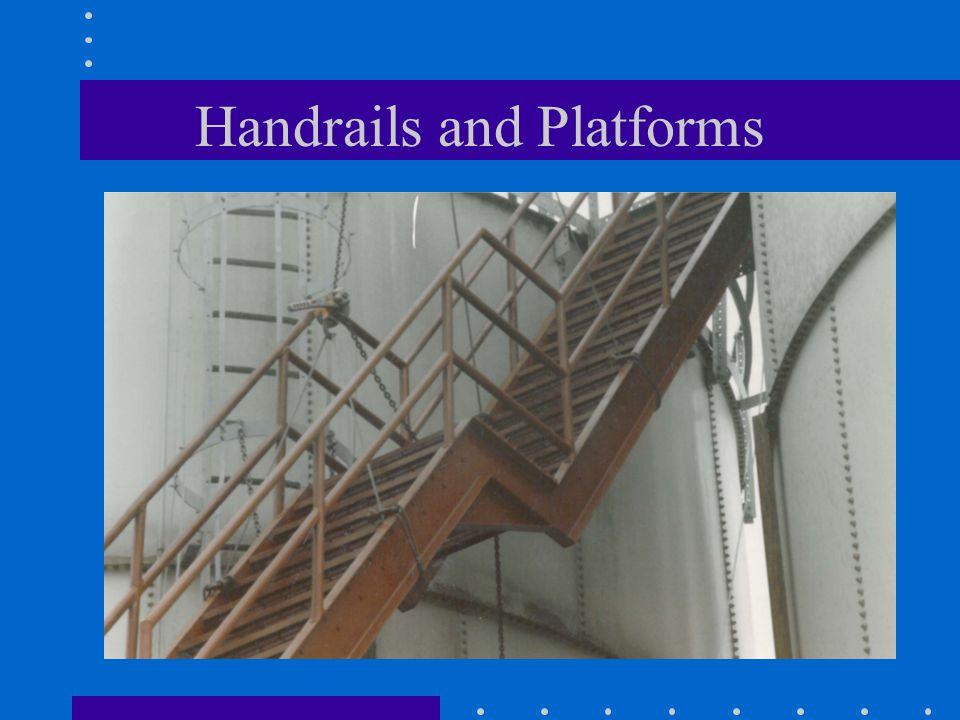 Handrails and Platforms