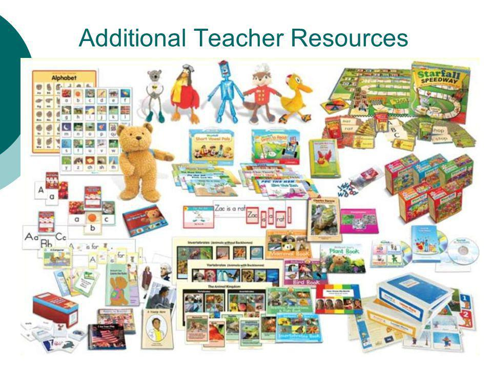 Additional Teacher Resources