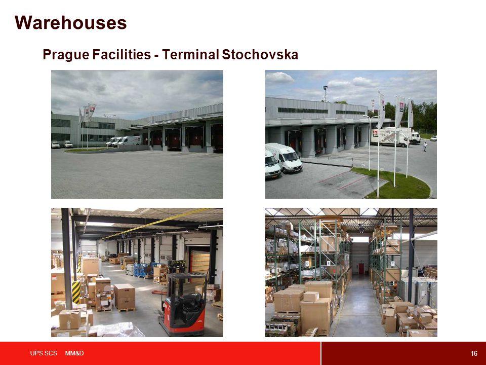 16 UPS SCS MM&D Prague Facilities - Terminal Stochovska Warehouses