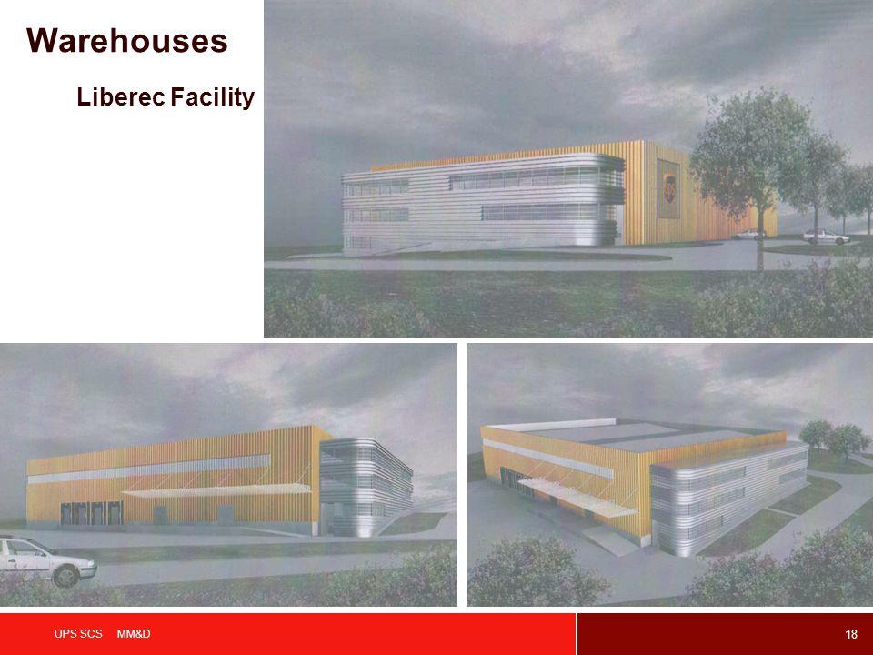 18 UPS SCS MM&D Liberec Facility Warehouses