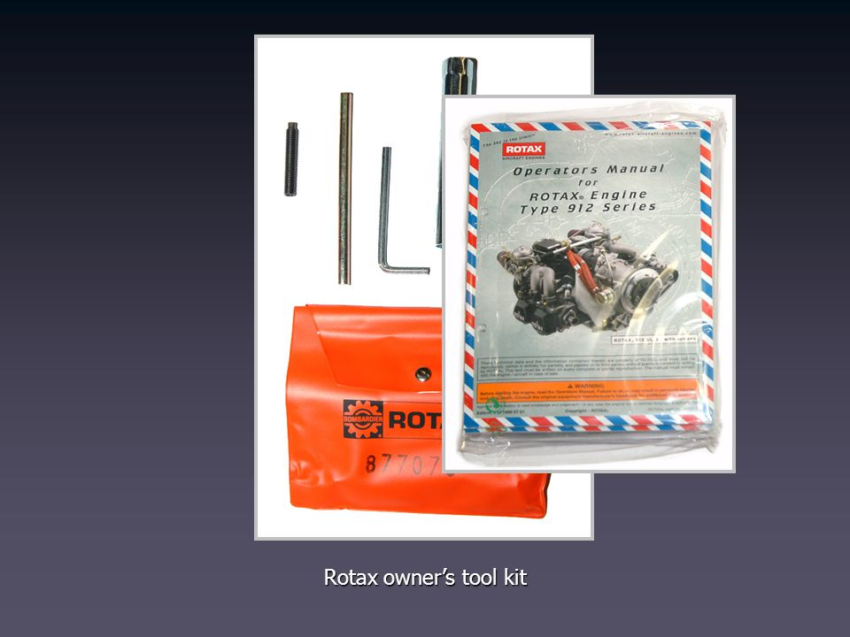 Rotax owners tool kit
