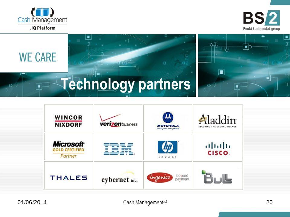 Technology partners 2001/06/2014 Cash Management.iQ