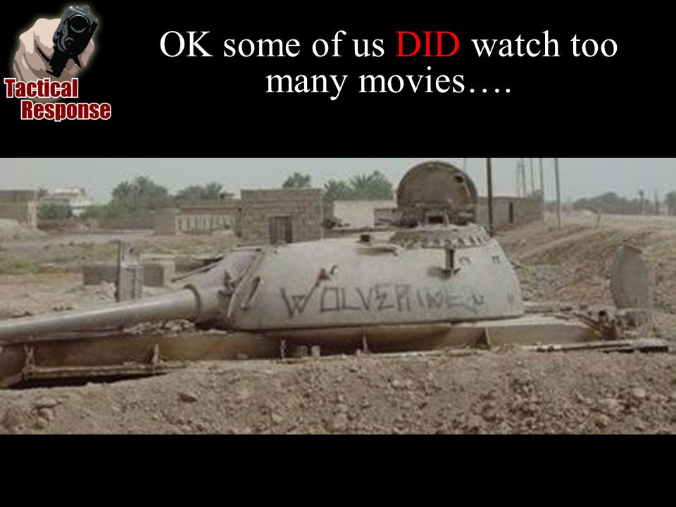 OK some of us DID watch too many movies….