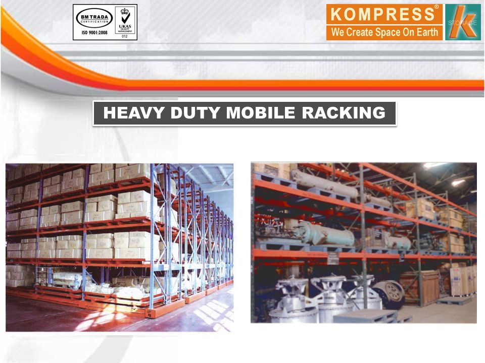HEAVY DUTY MOBILE RACKING