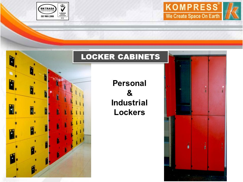 Personal & Industrial Lockers LOCKER CABINETS