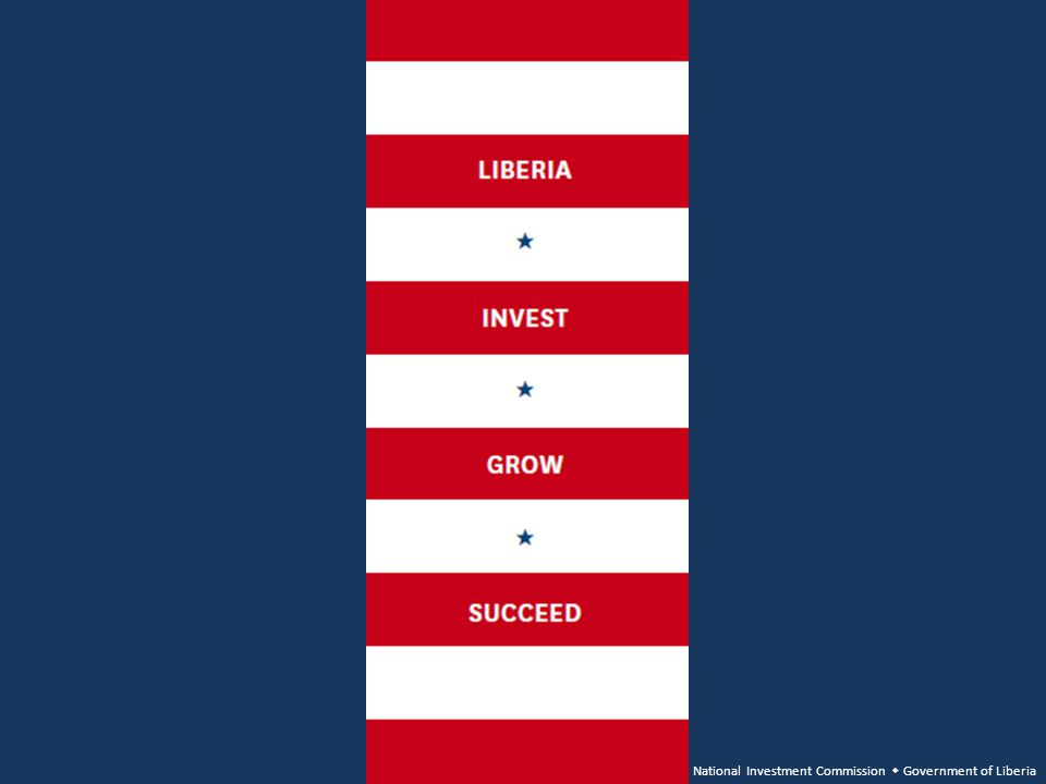 National Investment Commission Government of Liberia