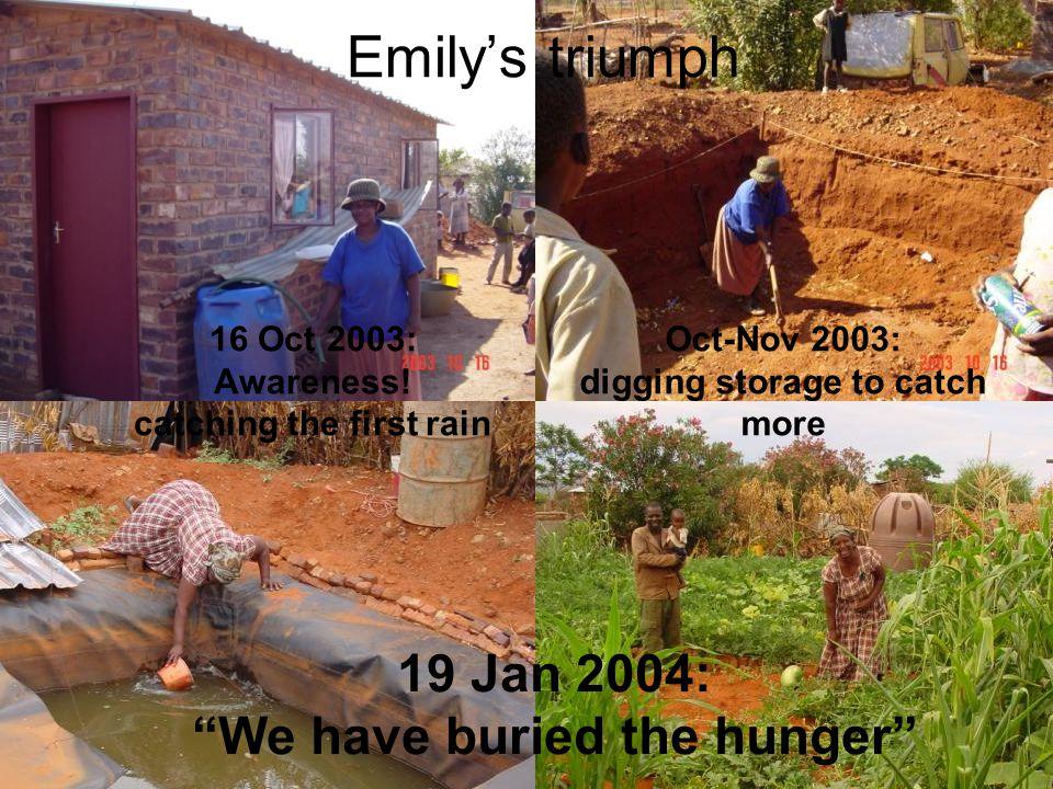 Emilys triumph 16 Oct 2003: Awareness.