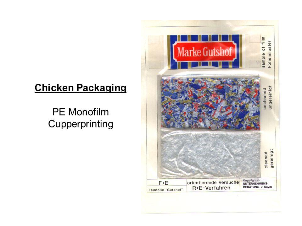 Chicken Packaging PE Monofilm Cupperprinting