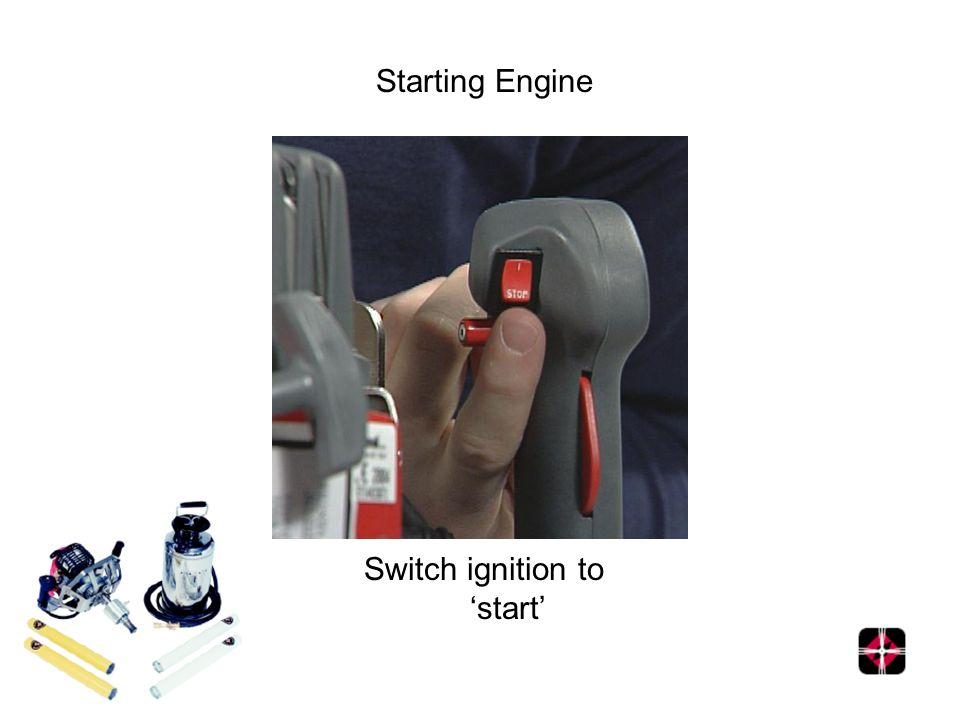 Starting Engine Switch ignition to start