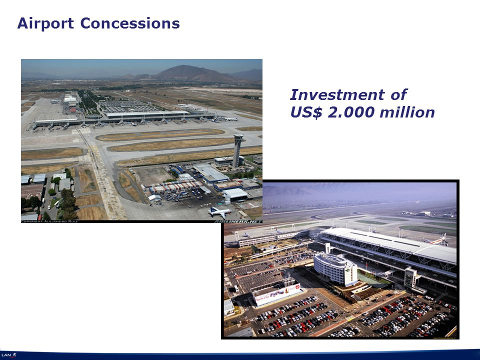 Airport Concessions Investment of US$ 2.000 million