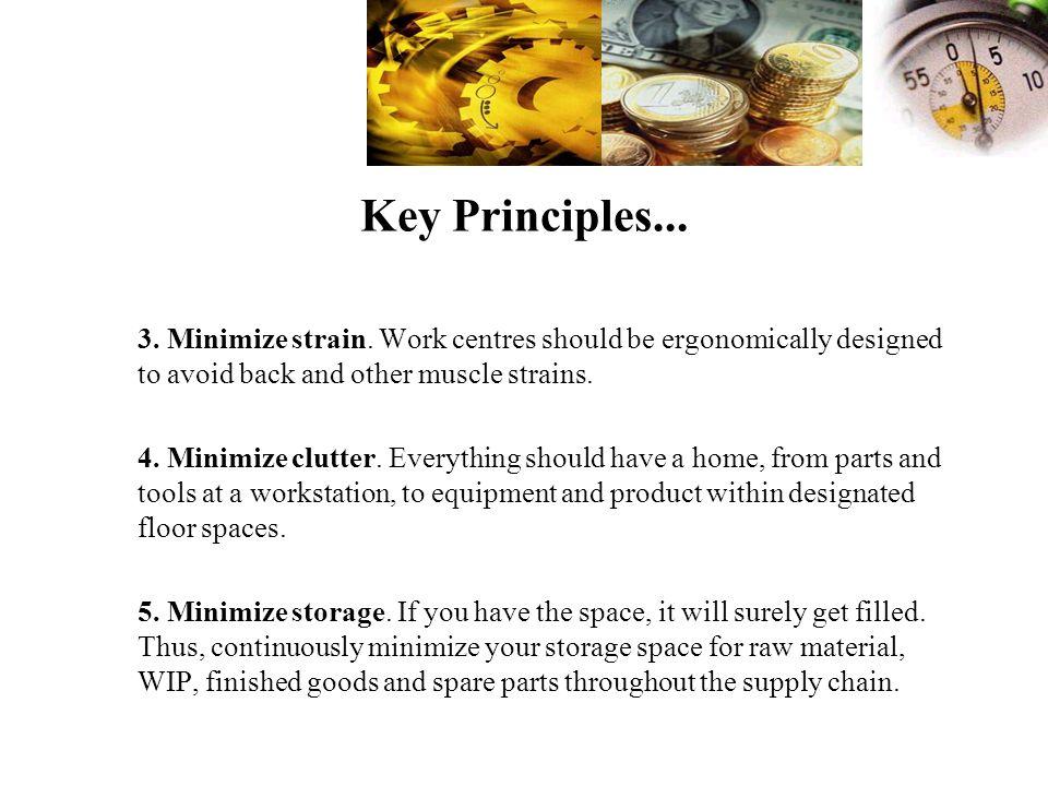 Key Principles...3. Minimize strain.