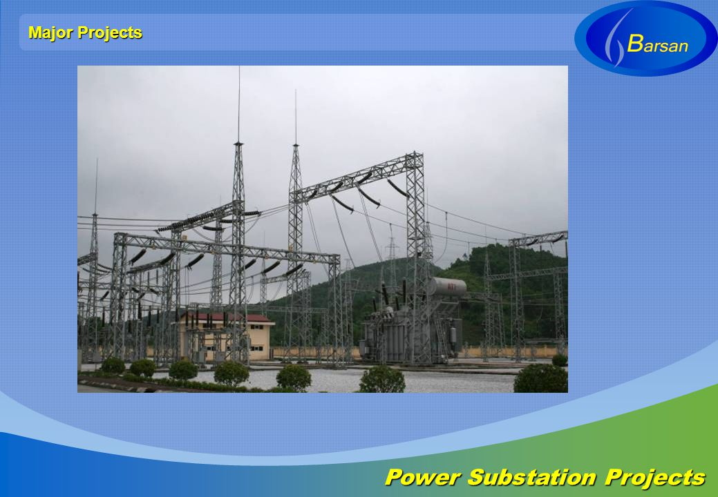 Major Projects Power Substation Projects