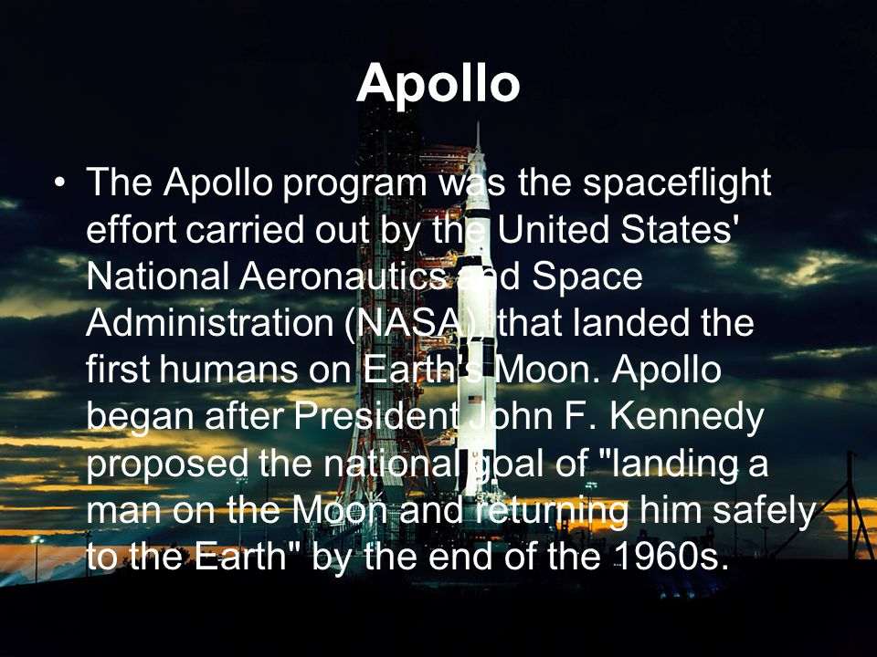 Apollo Kennedy s goal was accomplished with the Apollo 11 mission when astronauts Neil Armstrong and Buzz Aldrin landed their Lunar Module (LM) on the Moon on July 20, 1969 and walked on its surface while Michael Collins remained in lunar orbit in the command spacecraft, and all three landed safely on Earth on July 24.