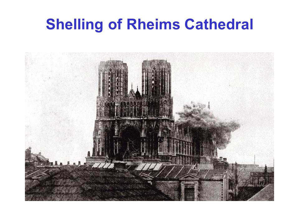 Shelling of Rheims Cathedral
