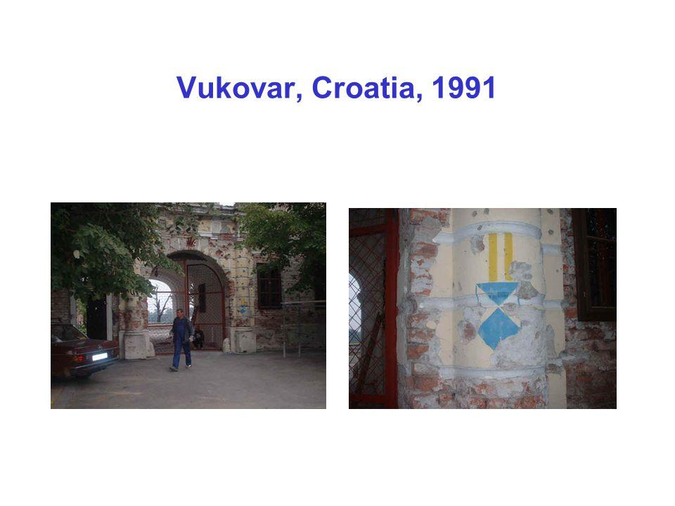 Vukovar, Croatia, 1991