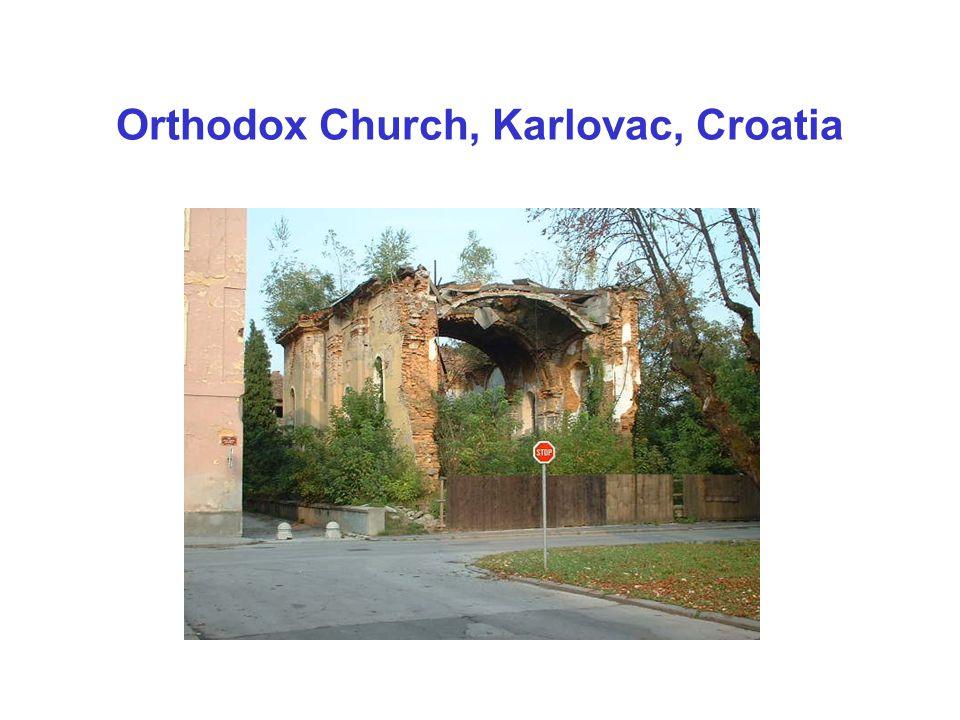 Orthodox Church, Karlovac, Croatia