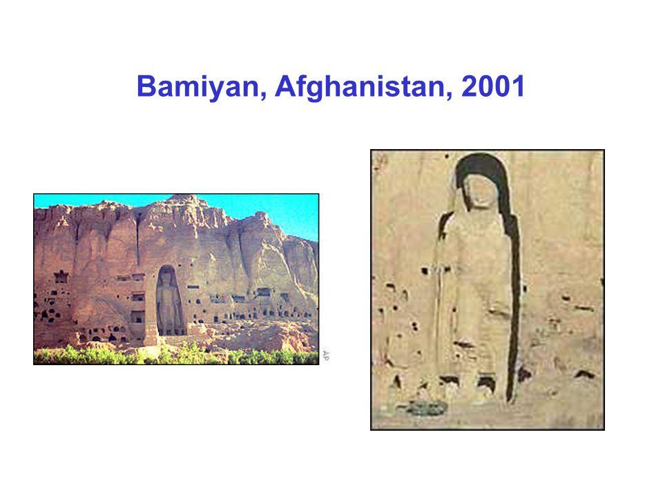 Bamiyan, Afghanistan, 2001