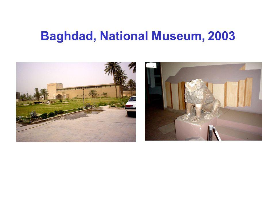 Baghdad, National Museum, 2003