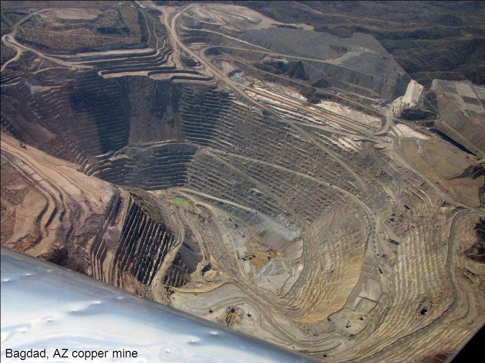 Bagdad, AZ copper mine
