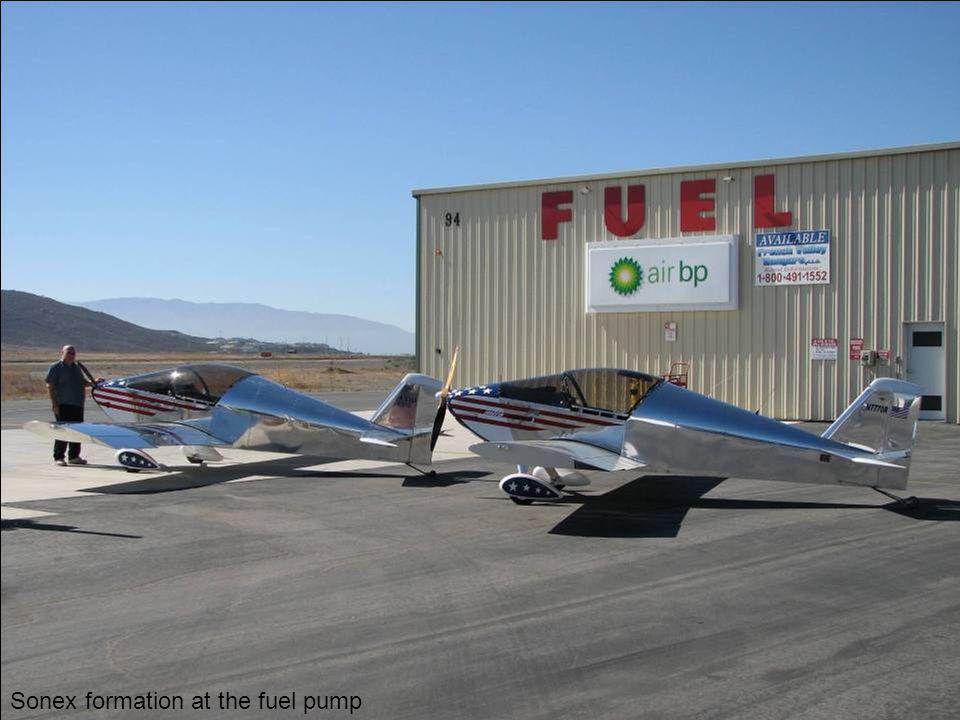 Sonex formation at the fuel pump