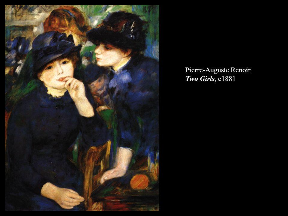 Pierre-Auguste Renoir Two Girls, c1881