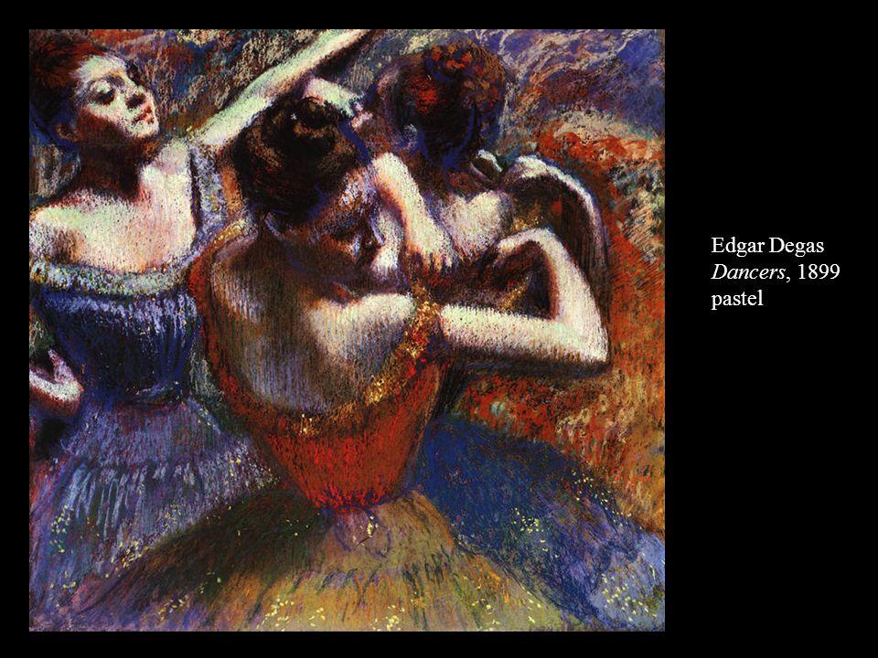 Edgar Degas Dancers, 1899 pastel