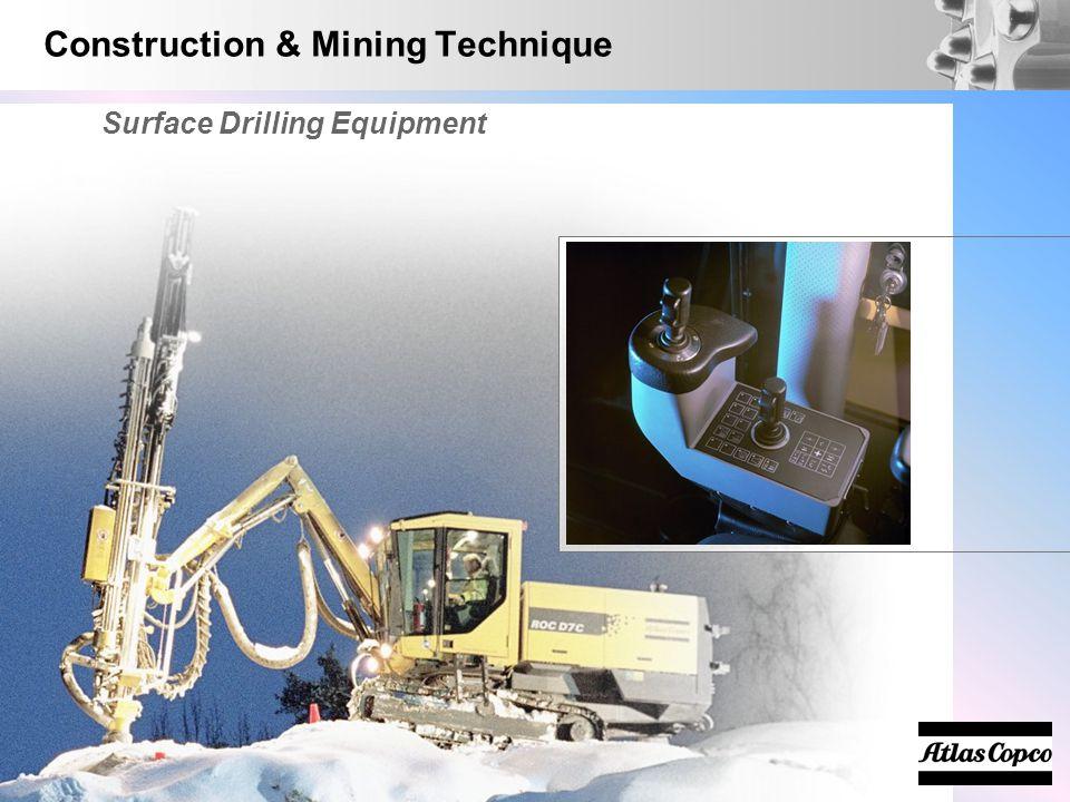 Construction & Mining Technique Surface Drilling Equipment