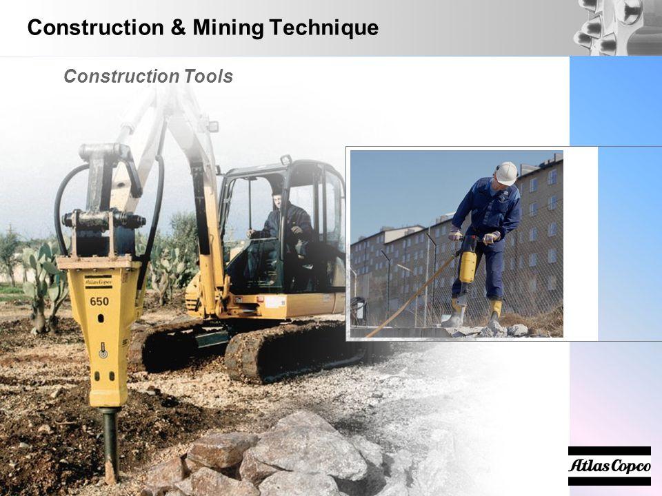 Construction & Mining Technique Construction Tools