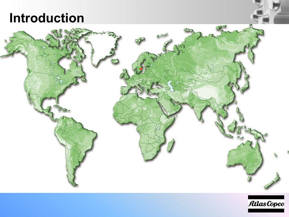 Introduction Atlas Copco Background